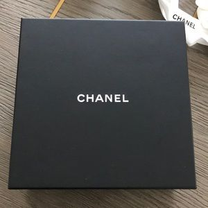 Chanel box and ribbon
